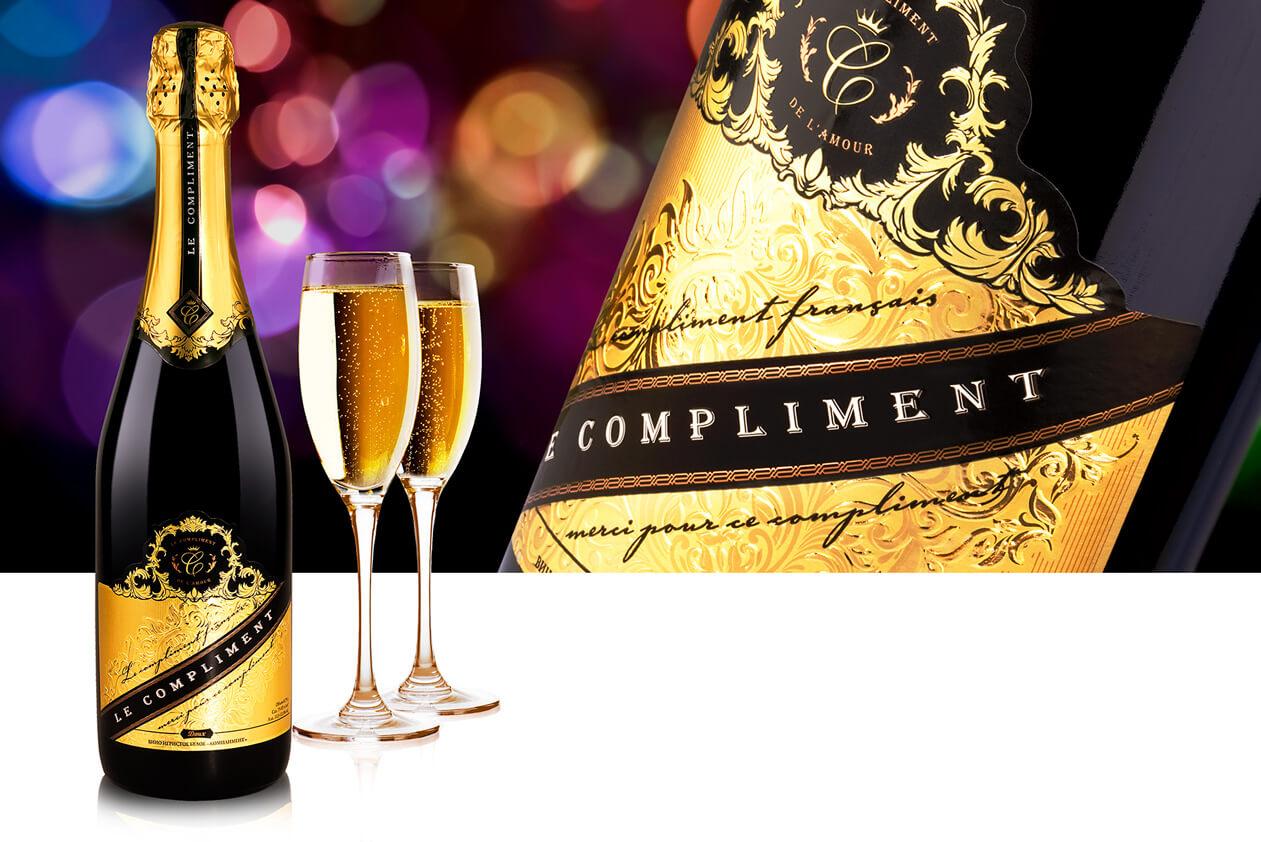 Шампанское Le Compliment
