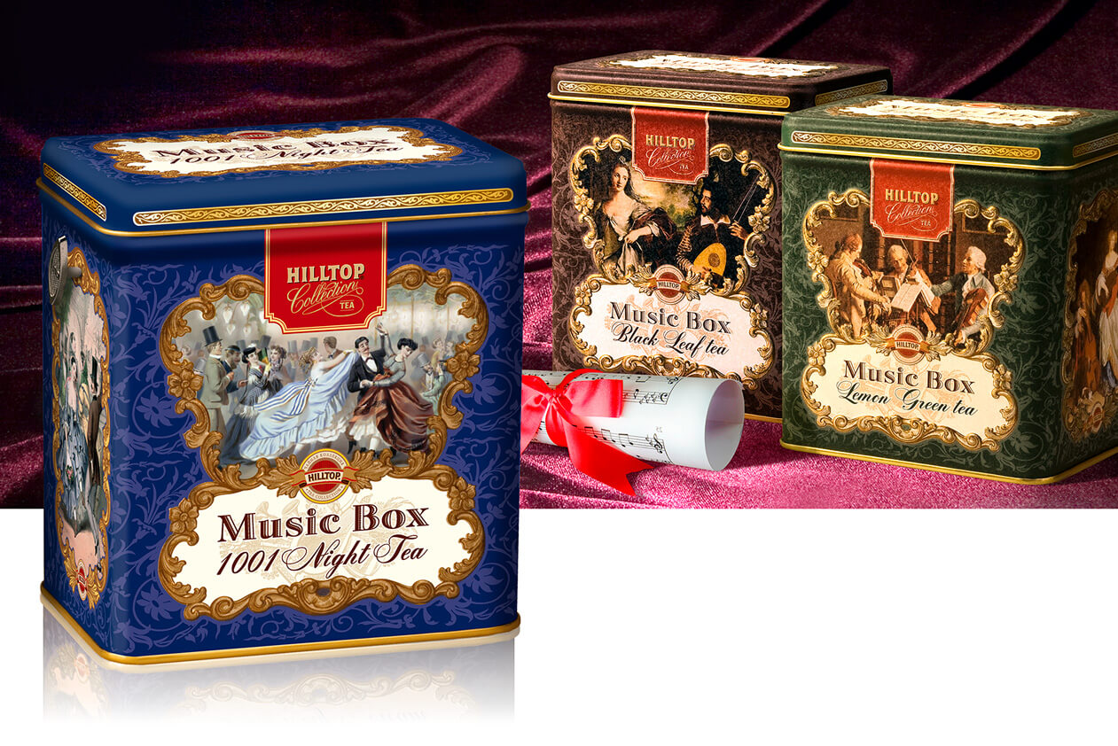 Чай Hilltop Music Box