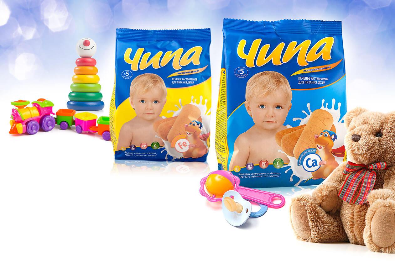 Детское печенье «Чипа»