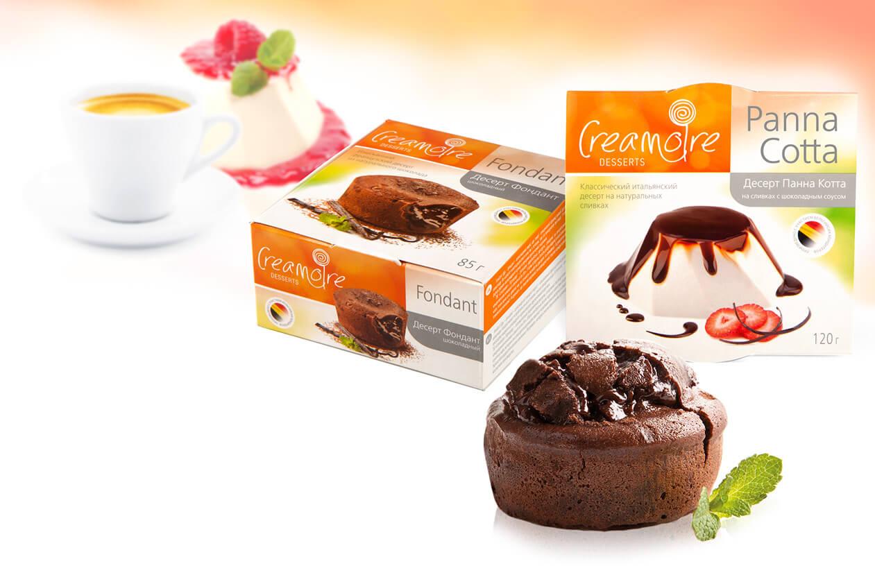 Десерты «Creamorie»