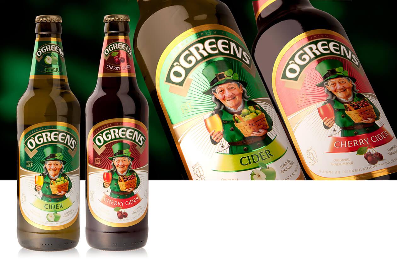 Сидр O'Greens
